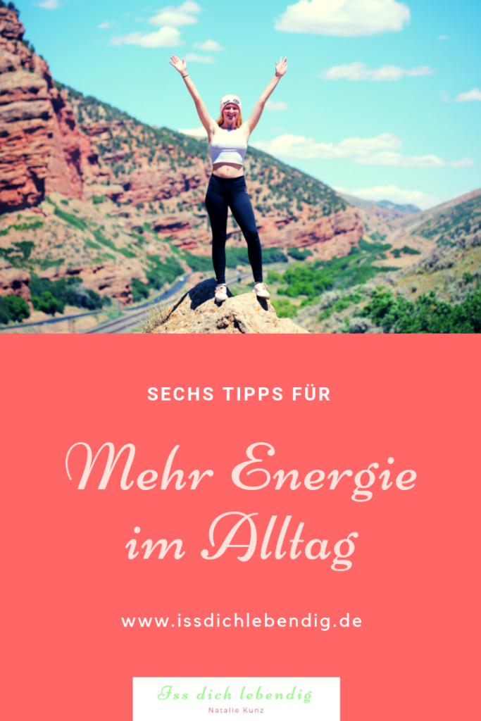 mehr Energie im Alltag
